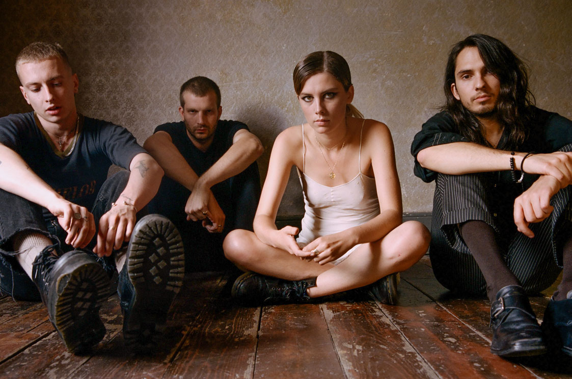 Wolf Alice, tour, new video, totalntertainment, Space & time
