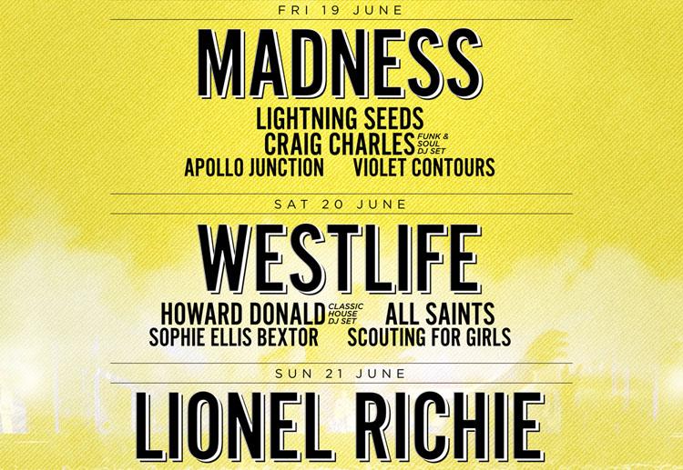 York Festival, Music, Festival, TotalNtertainment, Madness, Howard Donald