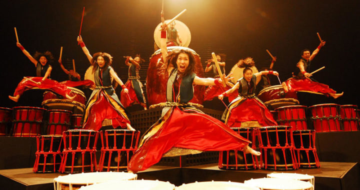 Yamato Drummers of Japan – traditional music with style and agility