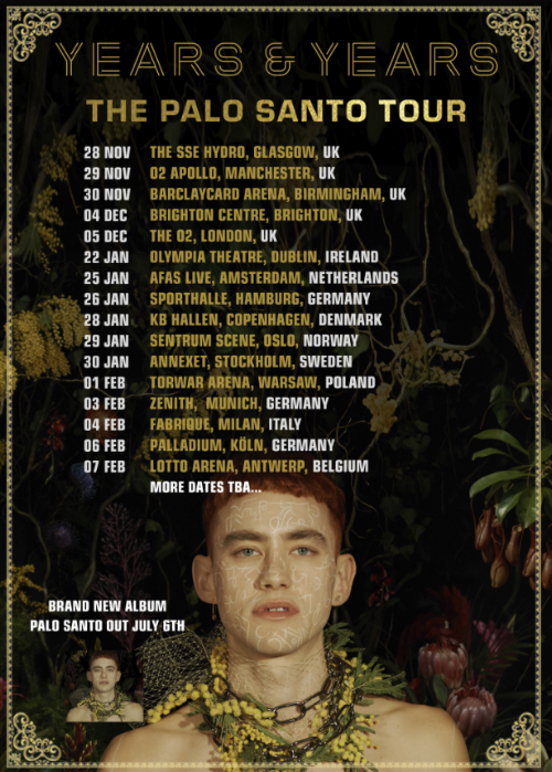 Years & Years, Tour, Manchester, totalntertainment, Music