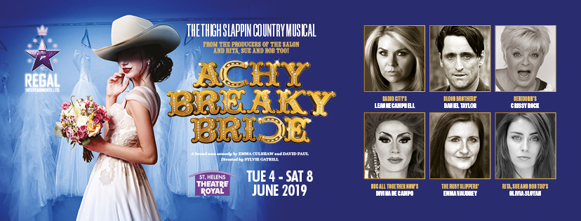 Achy Breaky Bride, TotalNtertainment, Musical, Theatre, St Helens
