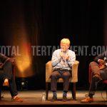Leeds Legends in Conversation, Gordon Strachan, Jimmy Floyd Hasselbaink, York, Theatre, Graham Finney Photography,  totalntertainment