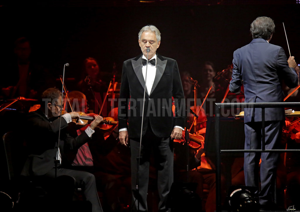 Andrea Bocelli, Opera, Italian, Music, Review, Sakura, TotalNtertainment