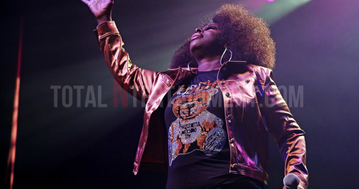 Angie Stone performs at Manchester's O2 Ritz