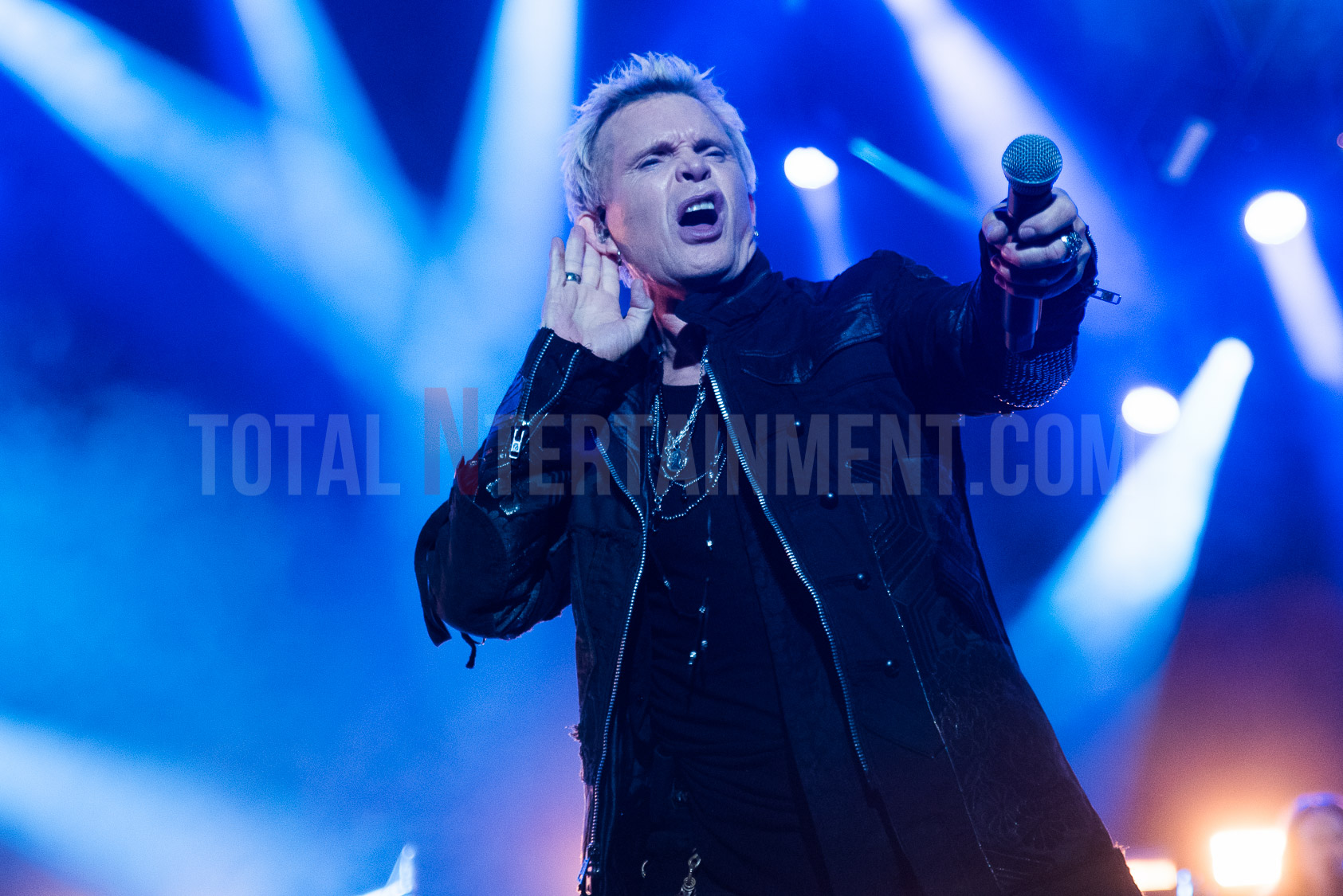 Billy Idol, Manchester, Graham Finney, TotalNtertainment, O2 Apollo