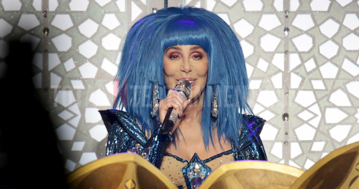 Cher turns back time in Manchester