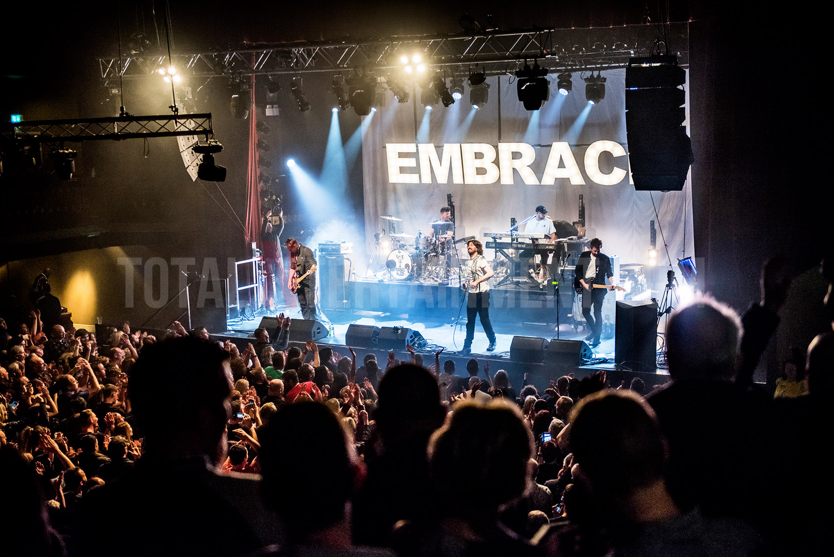 Embrace, Manchester, The Ritz, totalntertainment, Gary Mather
