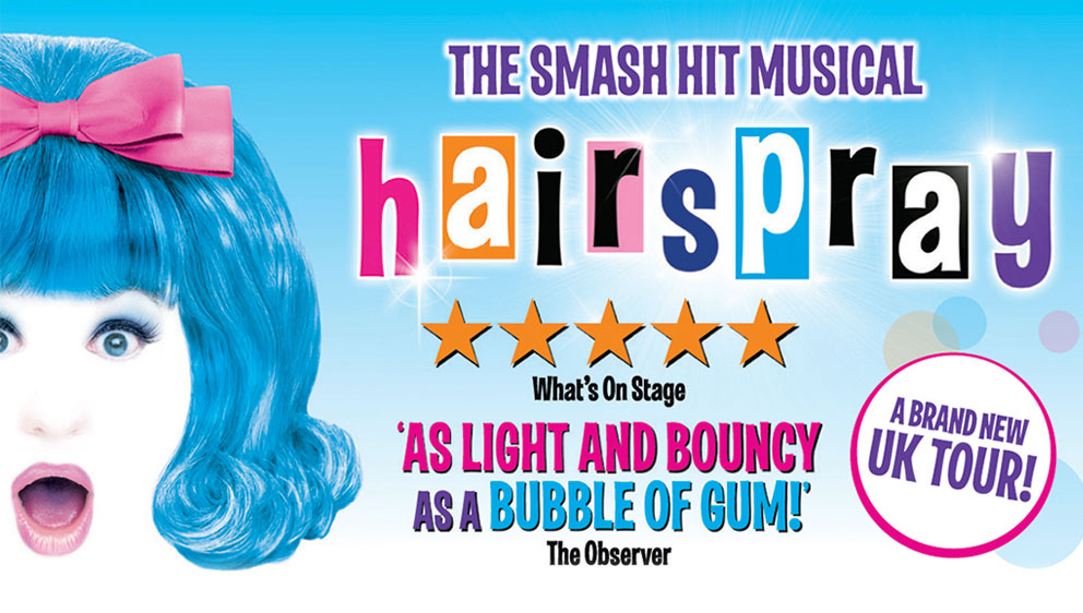 Hairspray The Musical, West End, tour, totalntertainment, theatre