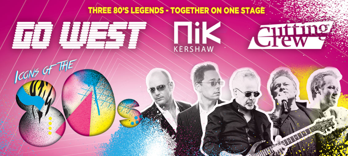 Icons of the 80s, totalntertainment, review, music, live event