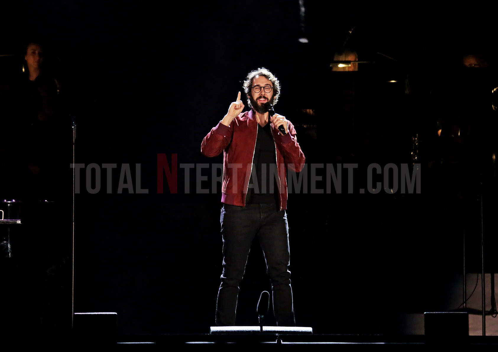 Josh Groban captivates the crowd in Manchester