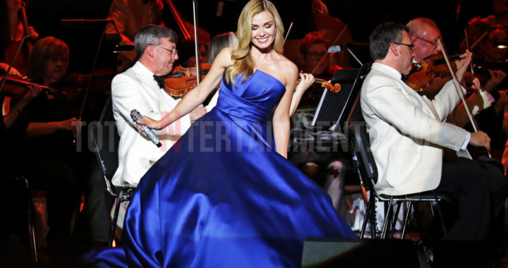 Katherine Jenkins plays to a packed Liverpool Philharmonic