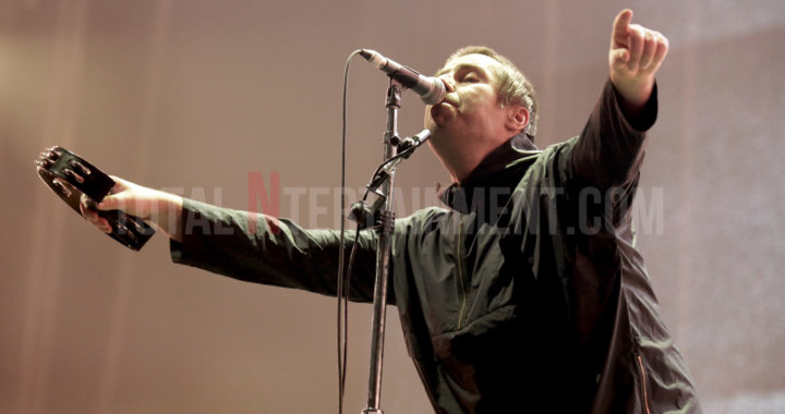 Liam Gallagher rocks the Manchester Arena