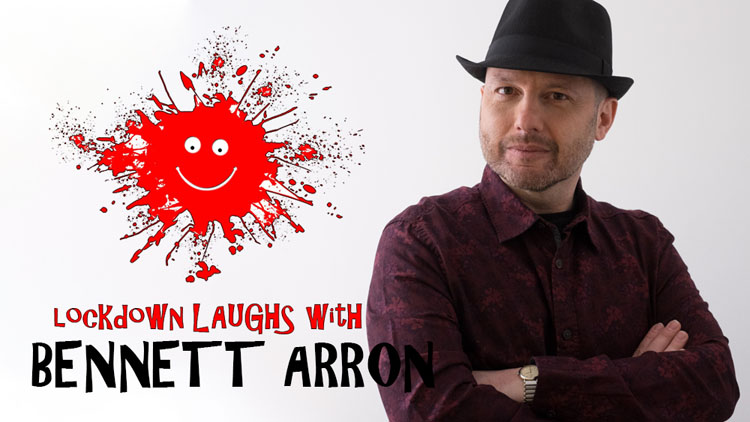 Lockdown Laughs, Bennett Arron, Comedy, TotalNtertainment, Interview