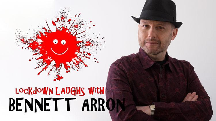 Lockdown Laughs, Bennett Arron, Comedy, TotalNtertainment, Interview