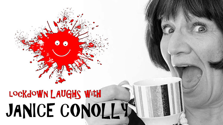 Lockdown Laughs Janice Connolly, Comedy, TotalNtertainment, Interview