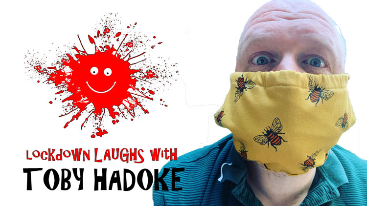 Lockdown Laughs, Toby Hadoke, TotalNtertainment, Interview, Comedy