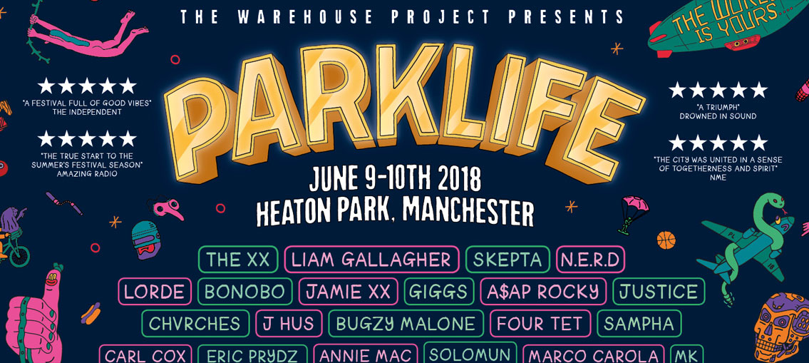 Parklife Festival returns to Manchester's Heaton Park in June