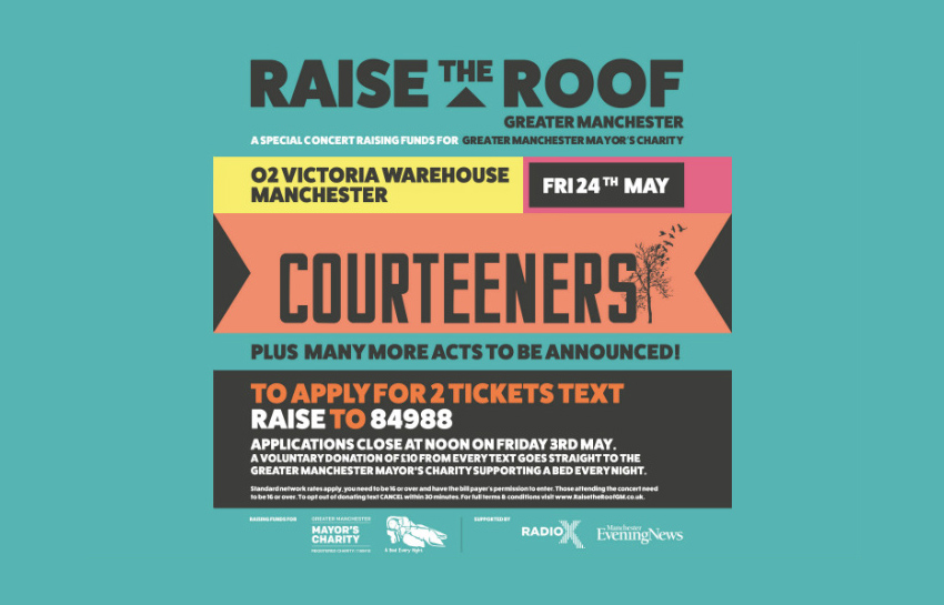 Raise The Roof, Music, Manchester, TotalNtertainment