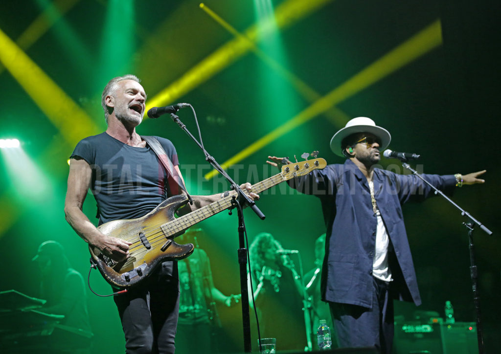 Sting, Shaggy, Music, Tour, TotalNtertainment, Review, Sakura