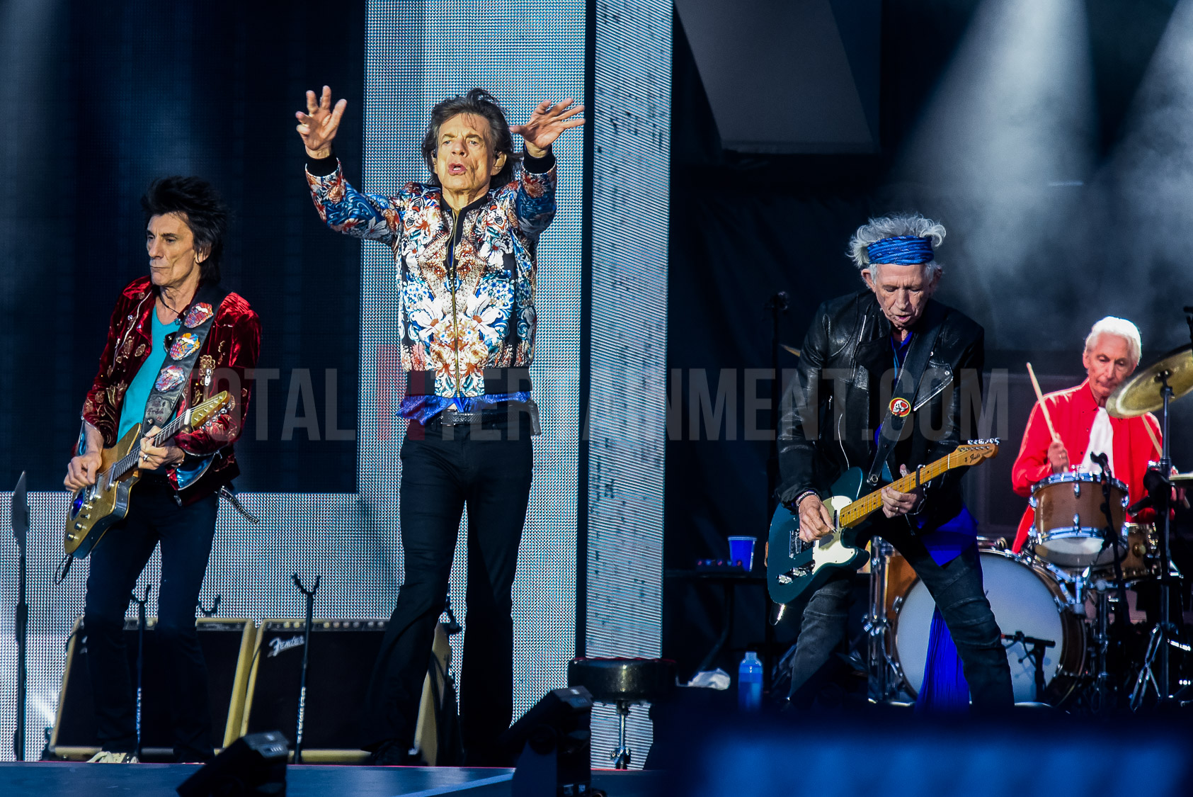 The Rolling Stones, Old Trafford, Manchester, Graham Finney, tour, TotalNtertainment