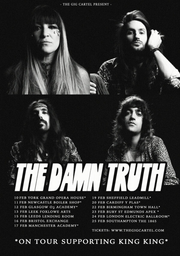 The Damn Truth, Now or Nowhere, Music, New Release, TotalNtertainment, Tour