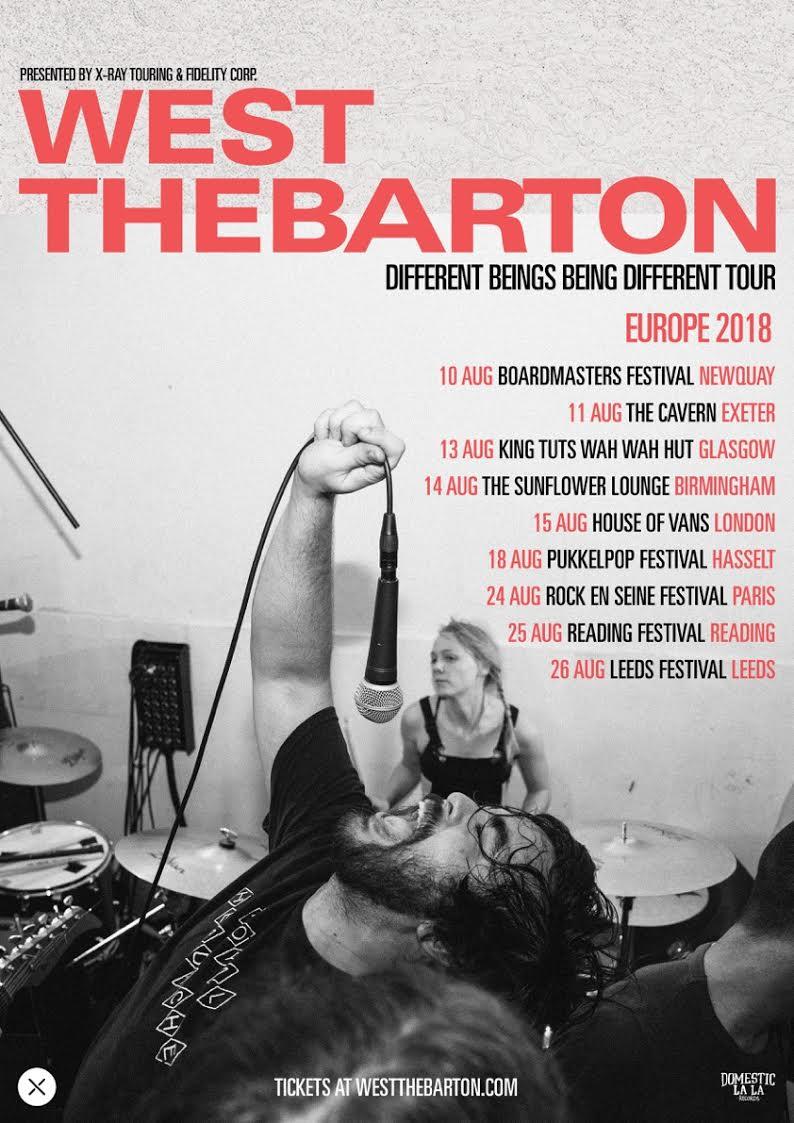 West Thebarton, Tour, UK, TotalNtertainment, Music
