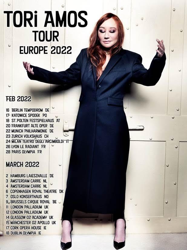 Tori Amos, Music, Tour, Manchester, TotalNtertainment
