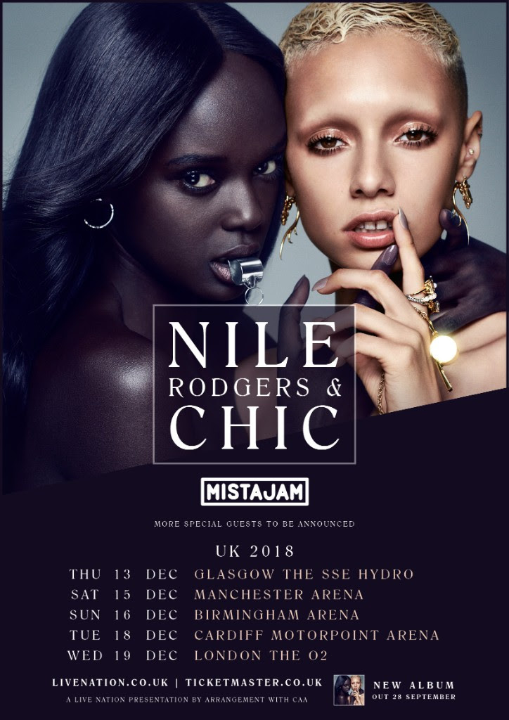 Nile Rogers, Chic, Tour, TotalNtertainment, Manchester