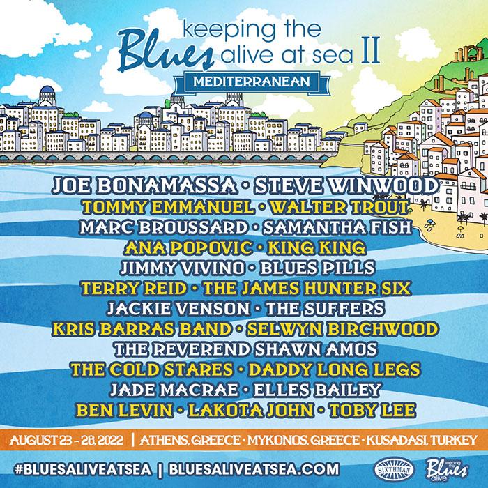 Keeping The Blues Alive, Steve Winwood, festival, Music news