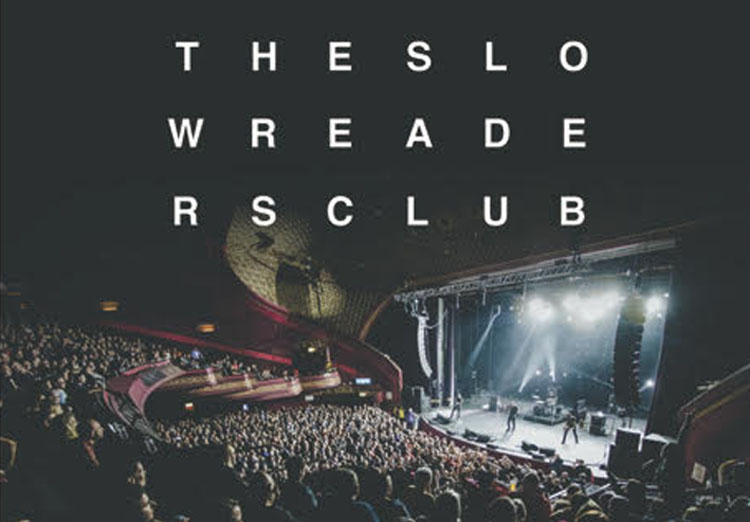 Slow readers Club, New Album, Tour, TotalNtertainment, Manchester