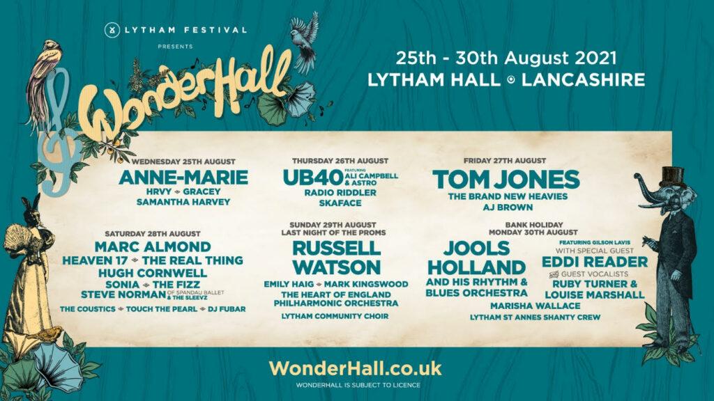Wonderhall, MUsic, Festival, Lytham, TotalNtertainment